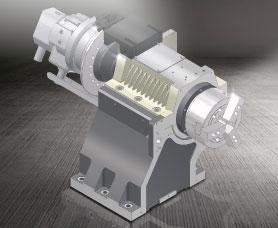 高速车铣复合机 GLS-1500 Built-in Spindle construction