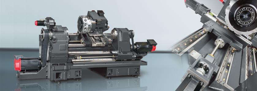 高速车削中心 Casting structure of GLS-2800 / 3300 model shown